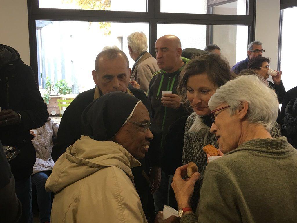 Avant son retour en Martinique, nous avons remercié Soeur Saint Jacques pour tout le temps passé à Martigues auprès de nous.