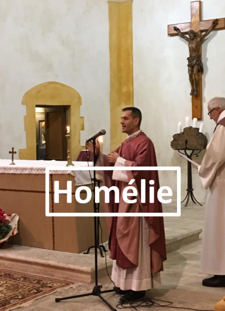 Homélie du Père Bastien Romera pour le dimanche de Gaudete