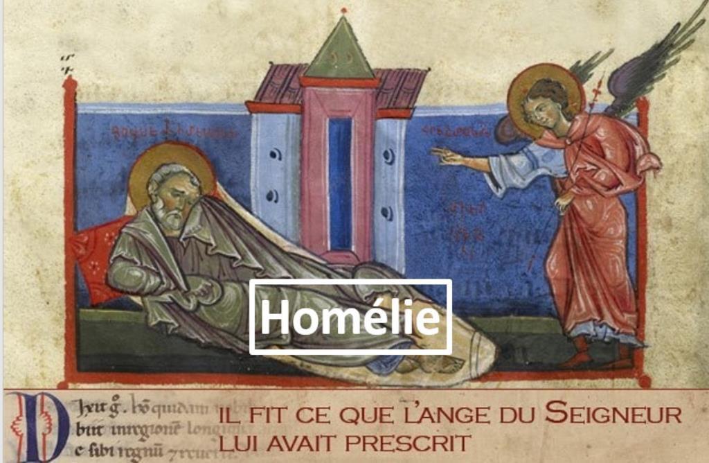 Homélie du Père Gilles-Marie Lecomte pour la Solennité de Saint Joseph