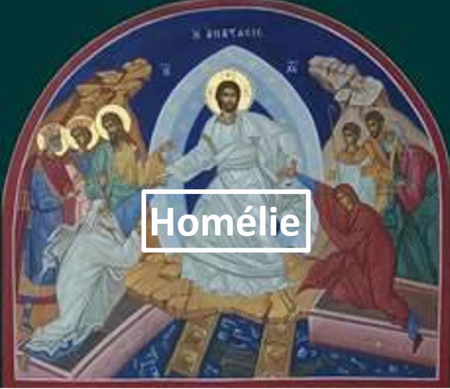 Homélie du Père Benoît Delabre pour la Veillée Pascale