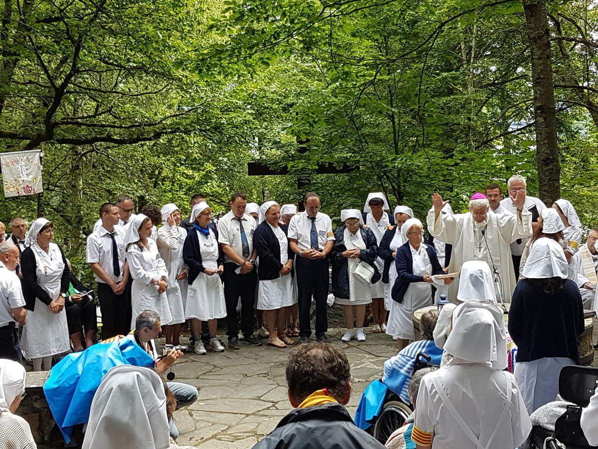 Messe, onction des malades, engagement des hospitaliers : joie pour tous !