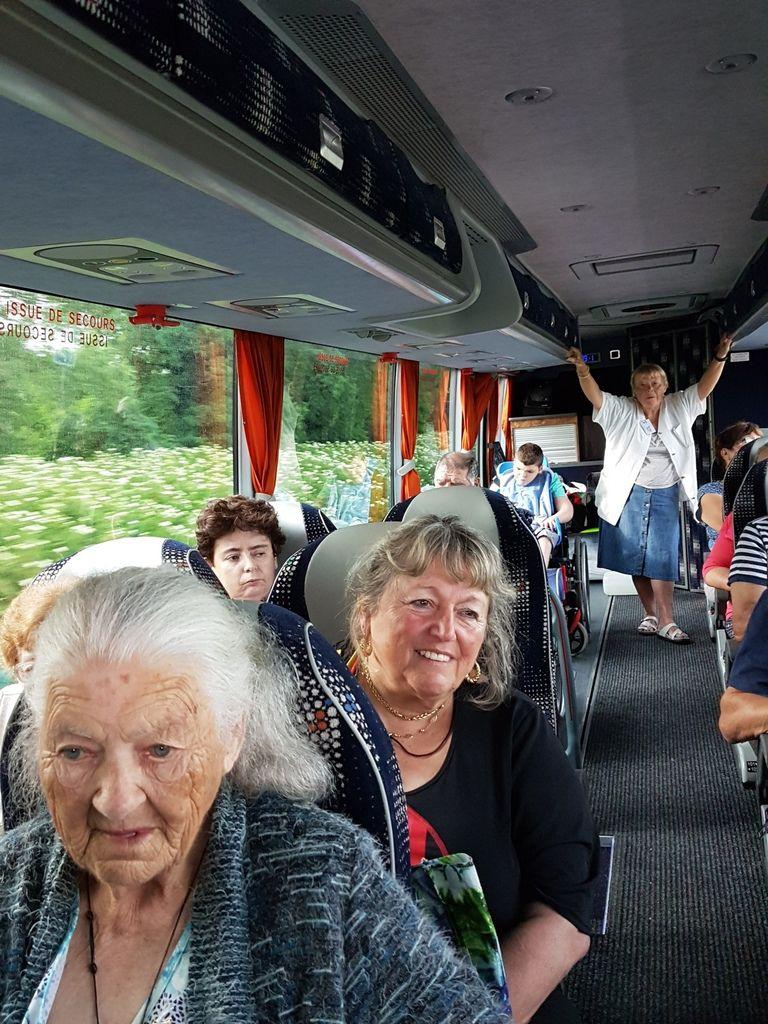 Trajet de retour : tout le monde à bord !