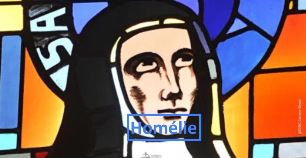 Homélie du Père Sébastien Sambou pour la fête de Sainte Claire
