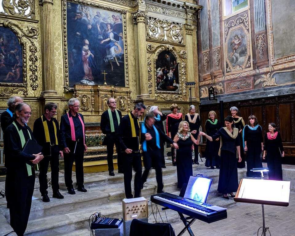 Concert donné par le Choeur vocal Amadéino et ses solistes.