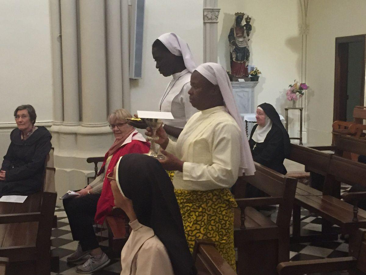 À l'occasion de la Journée diocésaine de la vie religieuse à Tarascon