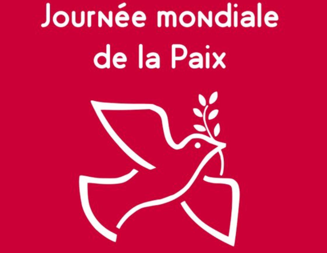 1ER JANVIER, JOURNÉE MONDIALE DE PRIÈRE POUR LA PAIX