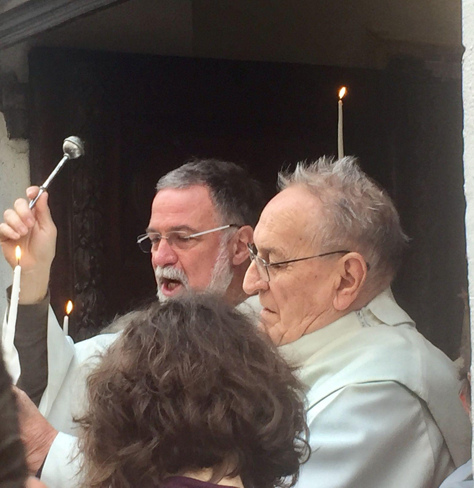 C'est dans une église Saint Louis d'Anjou comble qu'ont été été fêtées la Présentation du Seigneur et la Vie consacrée. Les Religieuses de Martigues ont renouvelé leurs vœux.