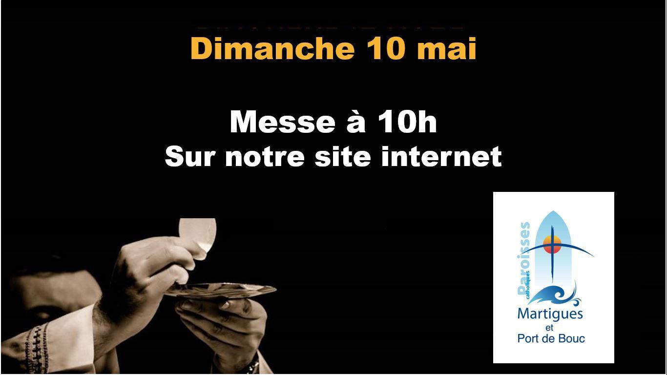 DIMANCHE 10 MAI : LECTURES DU JOUR