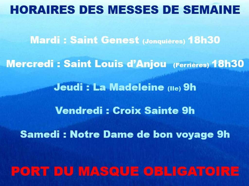 Messes de semaine à Martigues et Port de Bouc