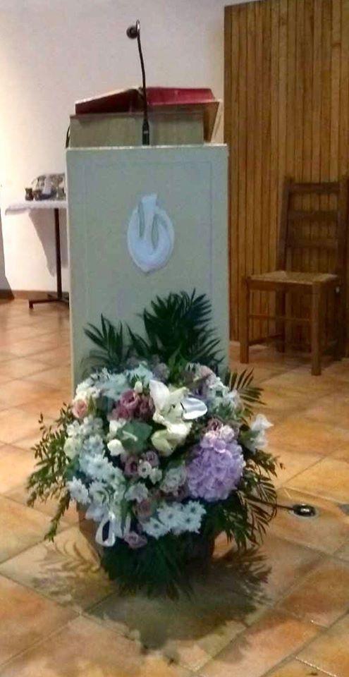 Messe présidée par le Père Michel Isoard