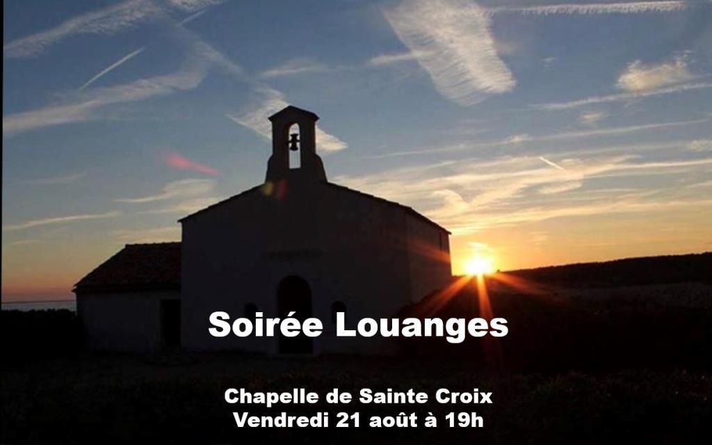 SOIRÉE DE LOUANGES VENDREDI 21 AOÛT À MARTIGUES