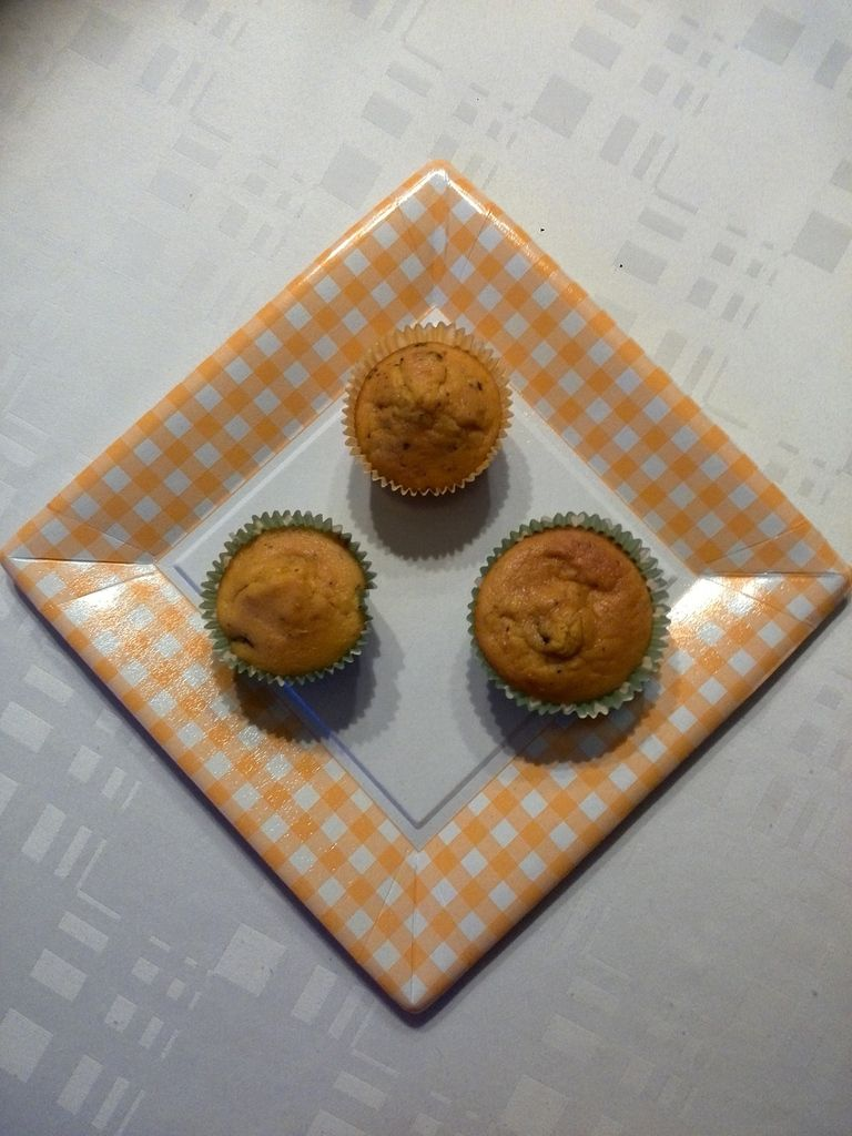 muffins potimarrons chocolat