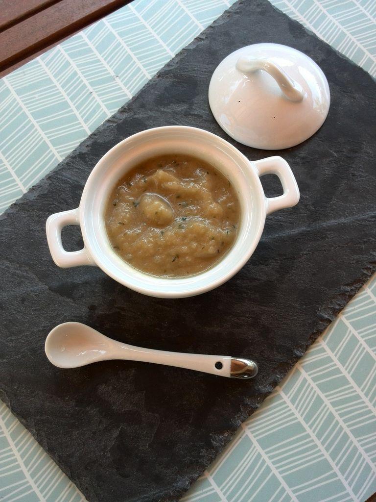 gaspacho de courgettes version 2