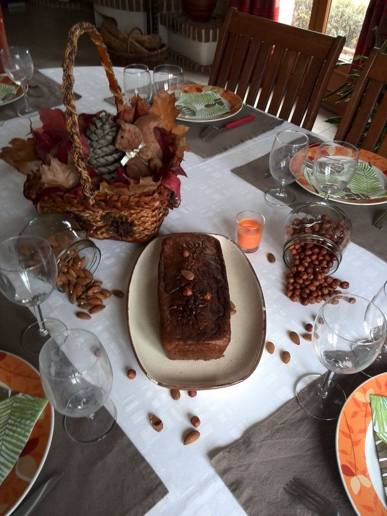 cake aux fruits d'automne