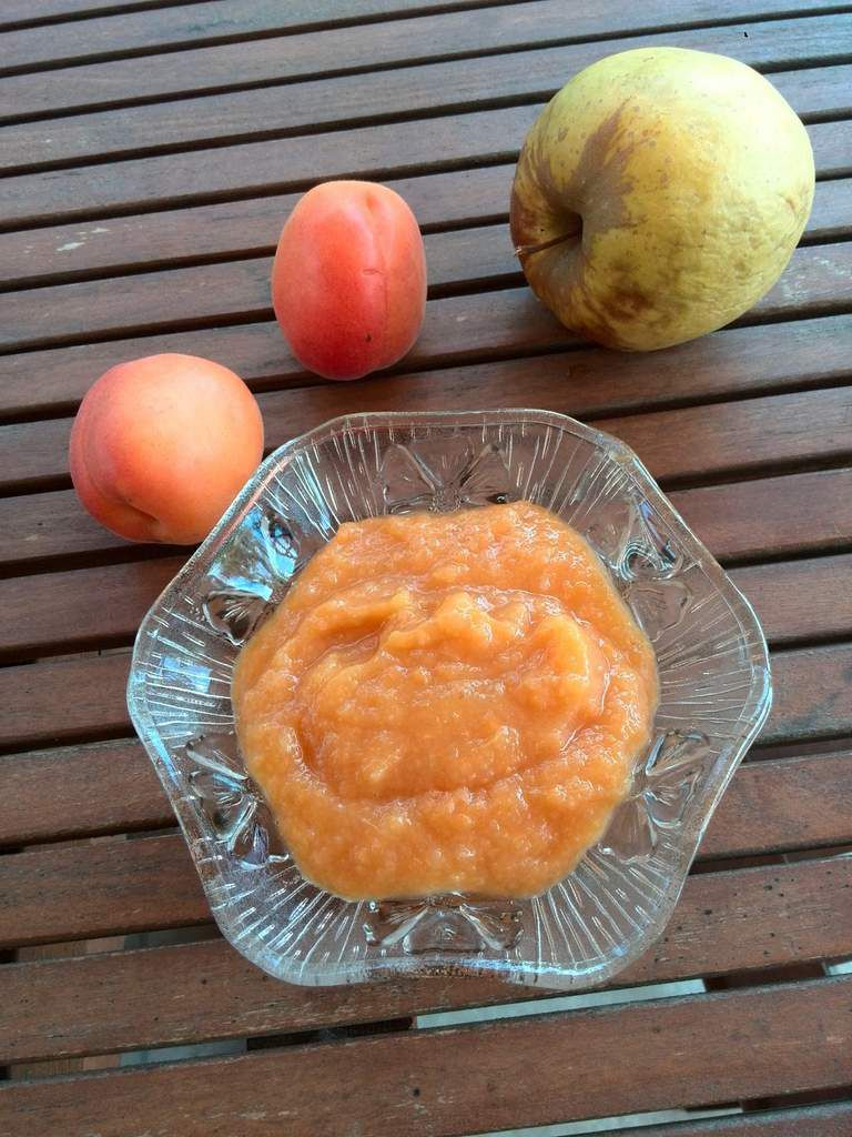 compote pomme abricot