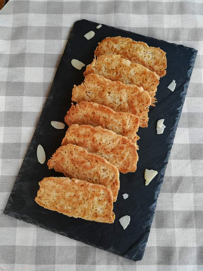 biscuits croquants amandes au thermomix