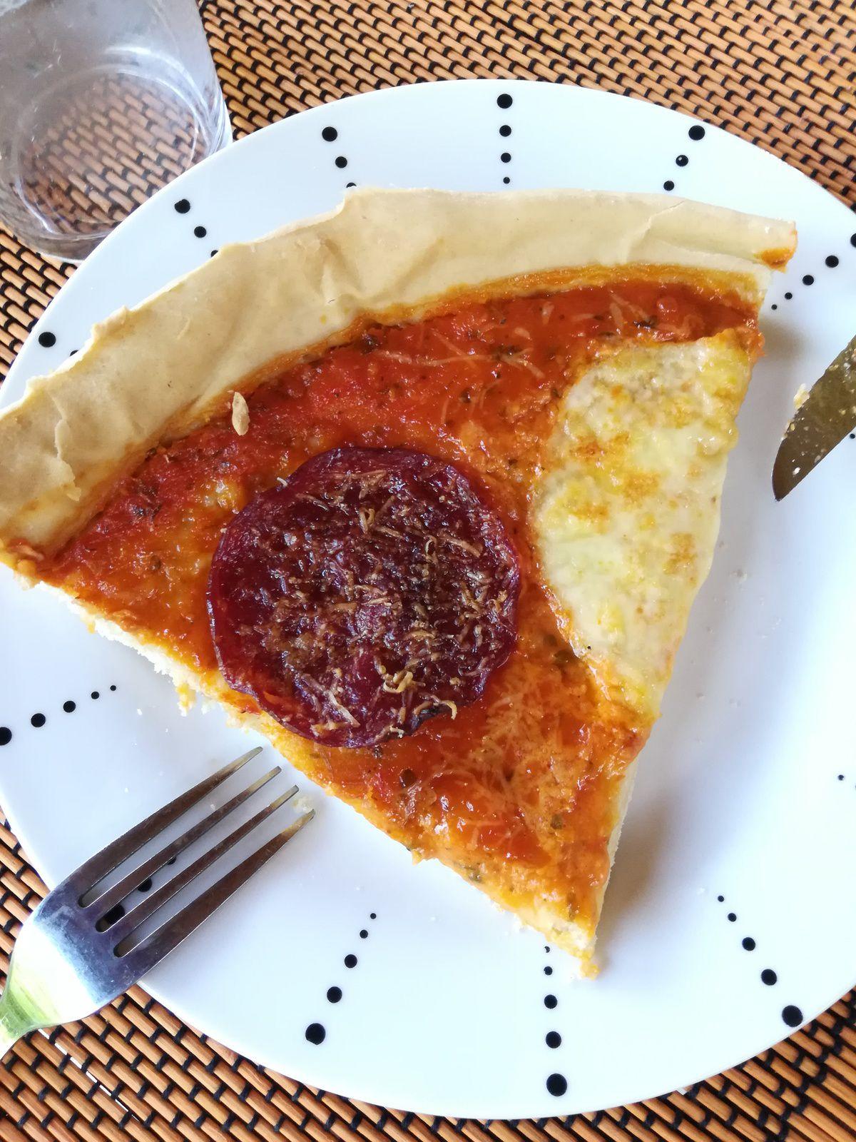 pâte à pizza sans temps de levée