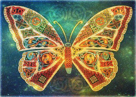papillon spirituel