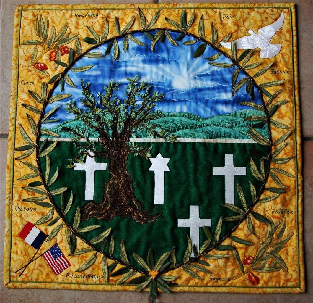 """""""Ô olivier, arbre béni des Dieux , veille sur eux pour l'éternité"""" ( cimetière américain de Draguignan)"""