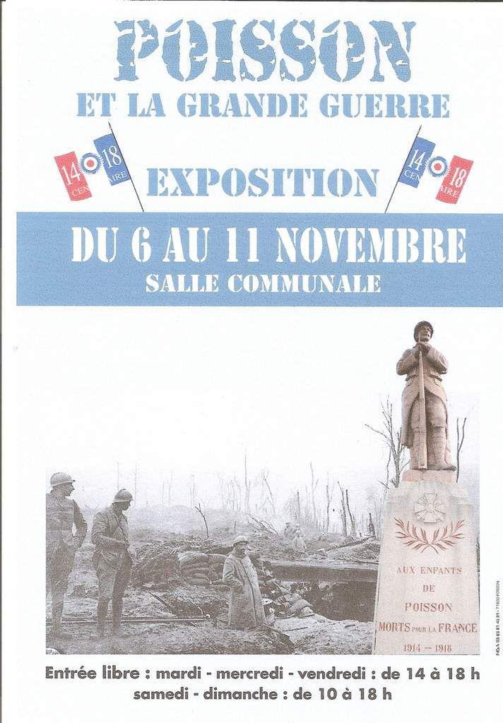 EXPO SUR LA GRANDE GUERRE 1918 :
