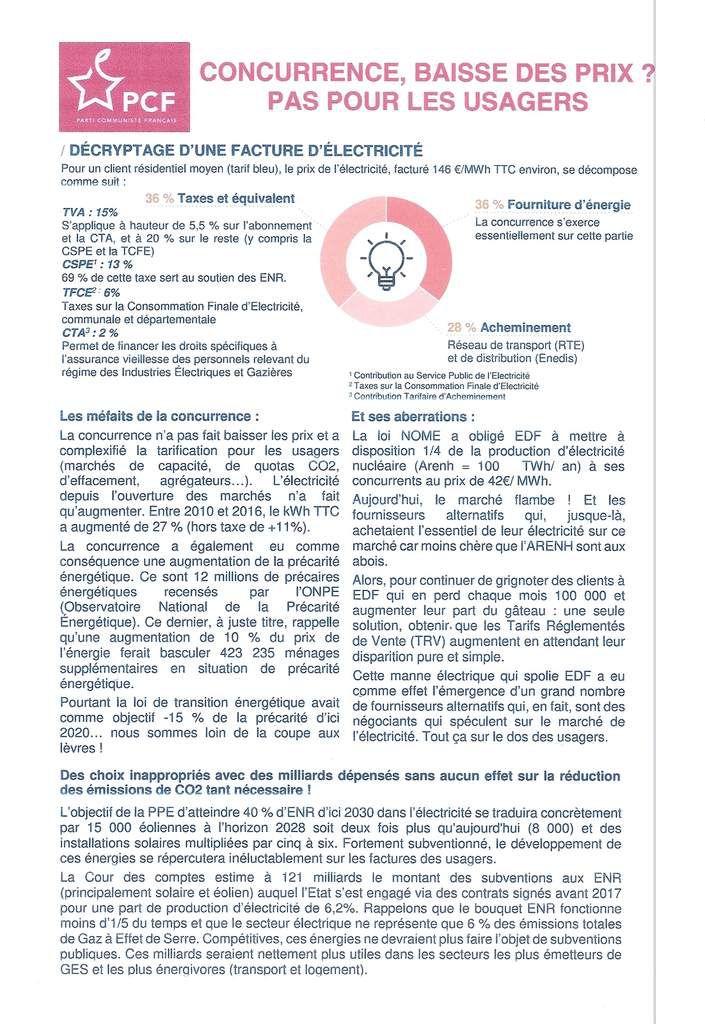 LES SPECULATEURS DE L'ELECTRICITE !