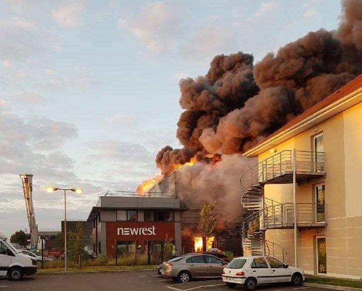 Des incendies en série dans plusieurs entreprises au nord-ouest 77: le dernier en date l'entrepôt Newrest à Mesnil Amelot