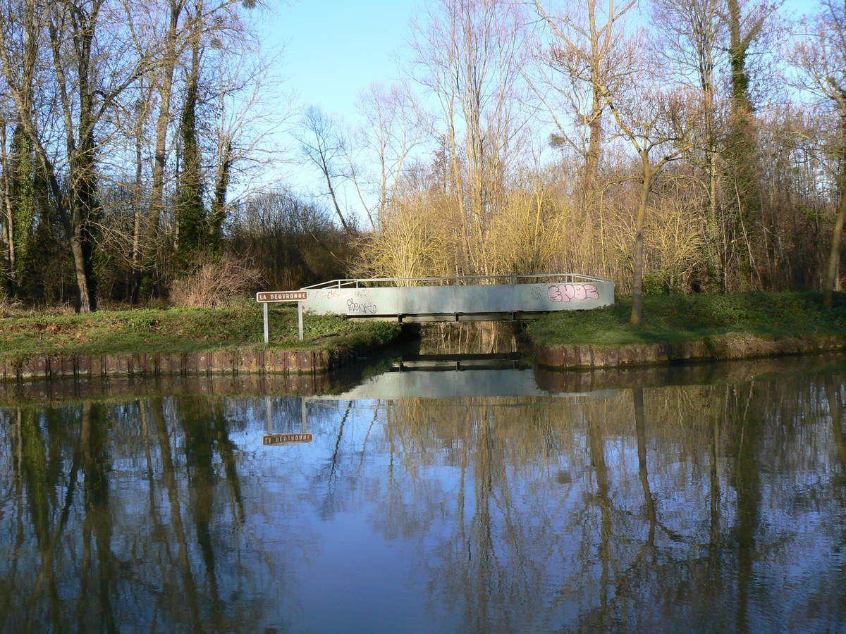 Gressy : la Beuvronne 1ère rivière qui alimente le canal de l'Ourcq
