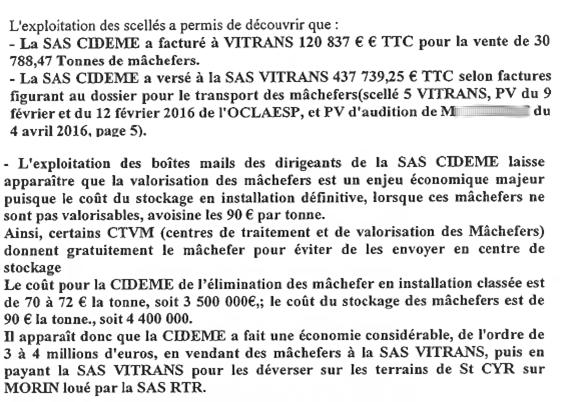 Nord 77 St Cyr sur Morin : abandon illégal de mâchefers d'incinération