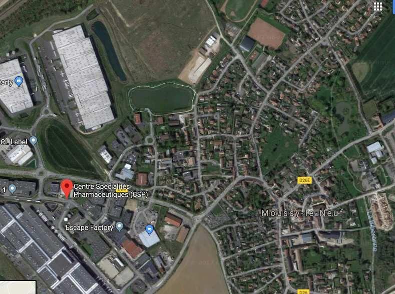 Nord-Ouest 77, bientôt un nouveau site SEVESO: l'entrepôt géant CSP Moussy le Neuf ?