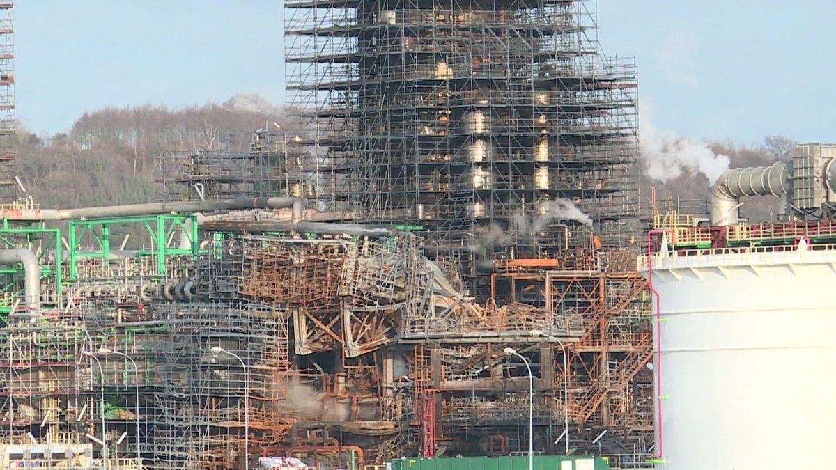 Raffinerie Total de Grandpuits 77, classée SEVESO à hauts risques : la préfète Béatrice Abollivier inflige une amende à l'exploitant