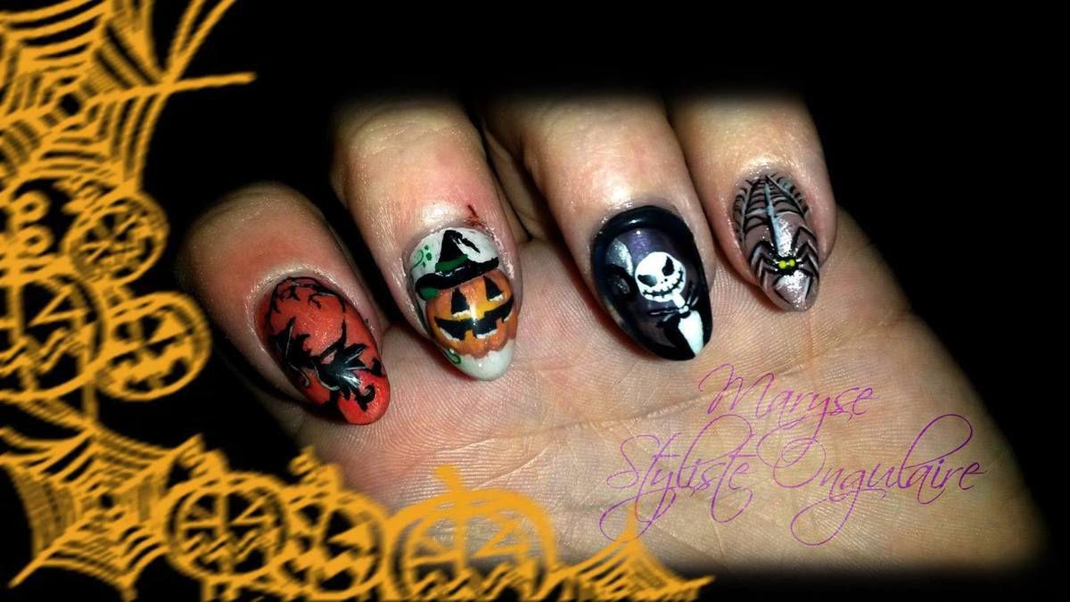 Halloween: Ongles et Maquillage de Circonstance à Charleroi / Belgique ...