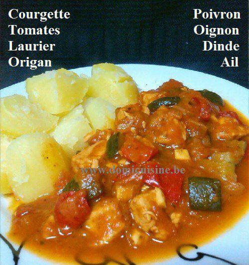 WW: Ragoût de Dinde à l'Ail, Sauce Tomatée ...