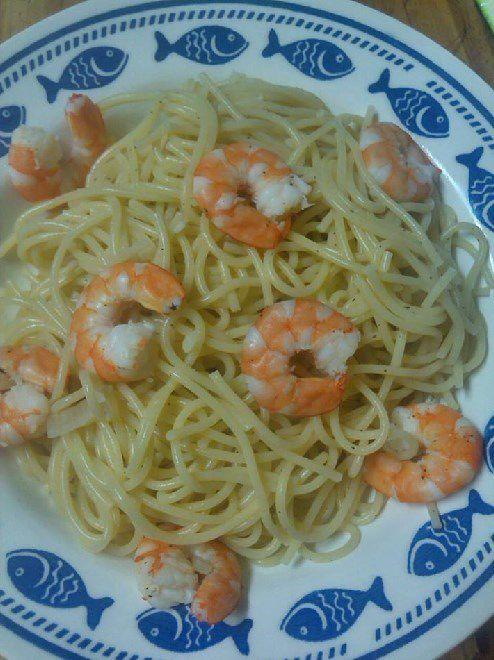 WW: Spaghettis aux Crevettes et Béchamel Light aux Légumes ...