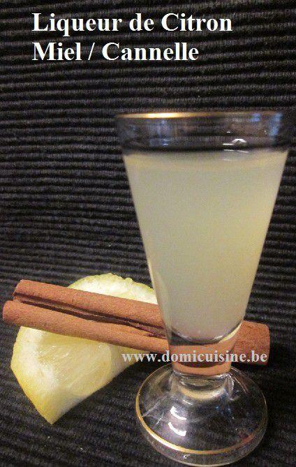 Liqueur de Citron au Miel ...