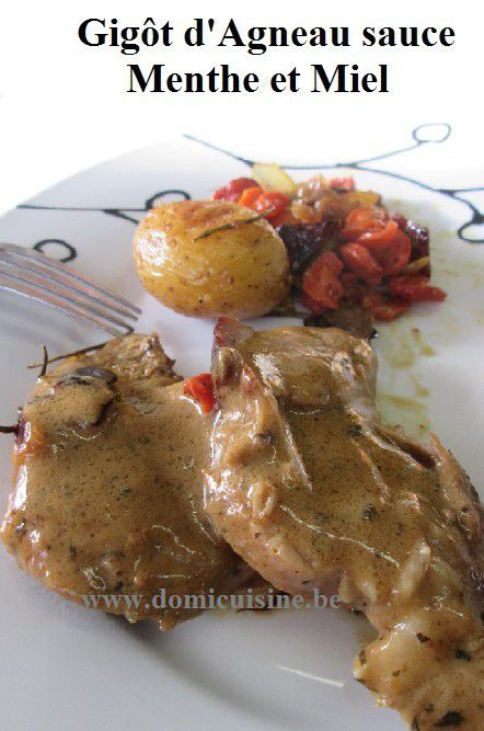http://www.domicuisine.be/2016/03/paques-gigot-d-agneau-marine-sauce-menthe-et-speculoos.html