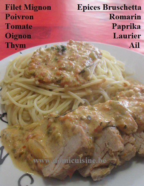 Filet Mignon de Porc à l'Italienne ...