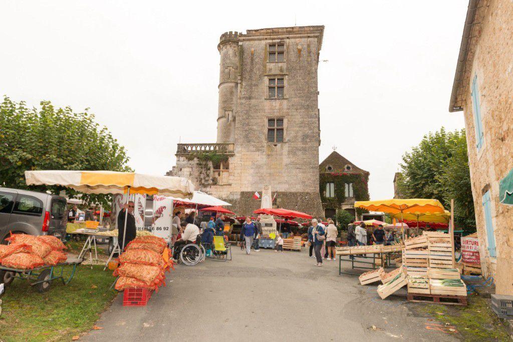 Foire d'automne à St Georges de Montclar