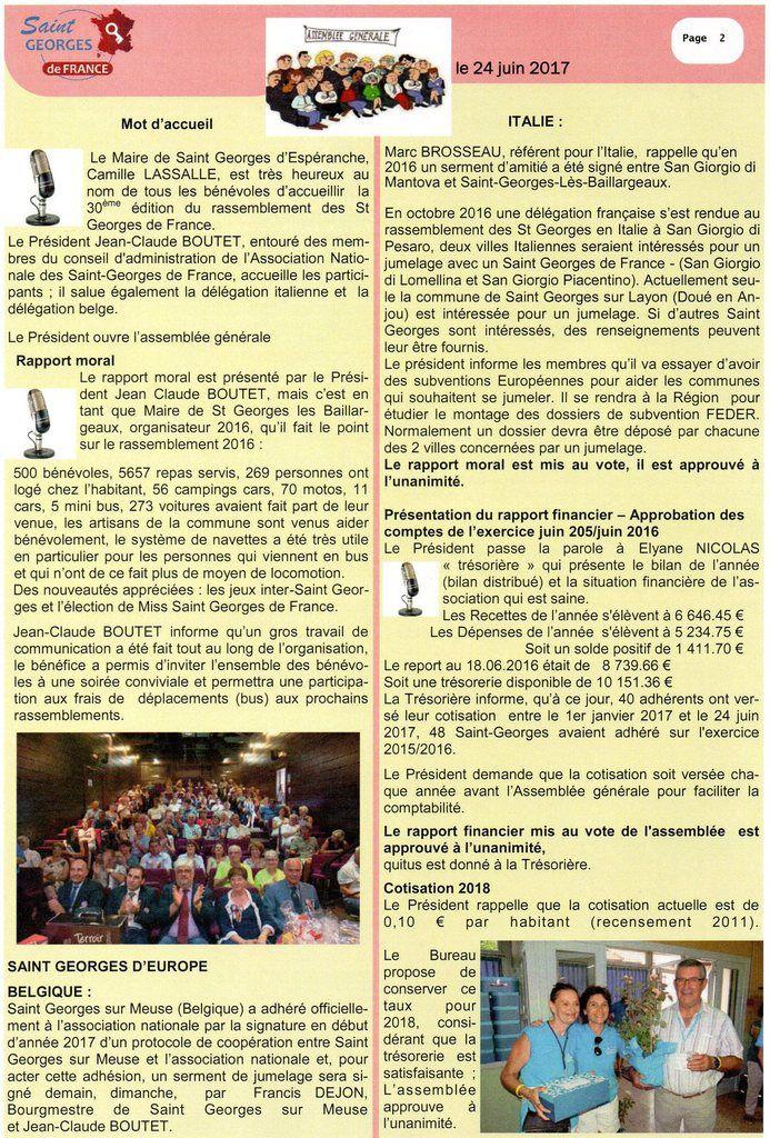 Flash info n° 30 - janvier 2018 - St Georges les Baillargeaux 86130