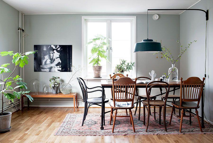 Un intérieur en gris