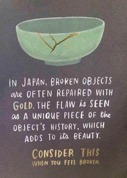 Kintsugi ou l'art de réparer les céramiques avec de l'or