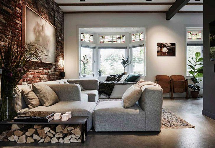 Une maison de peintre pleine de caractère