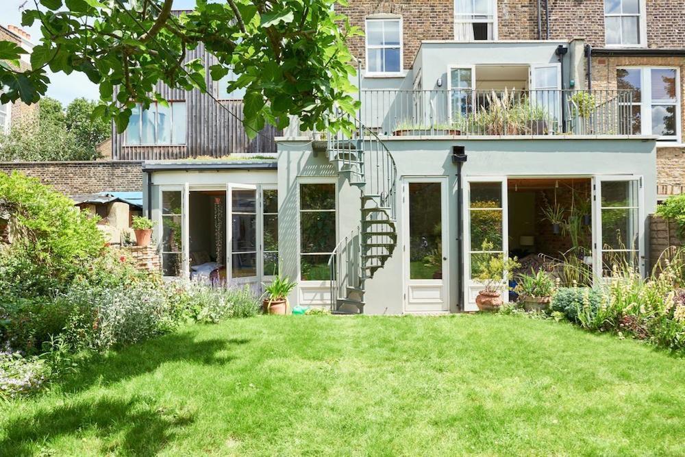 Une maison pour les plantes vertes