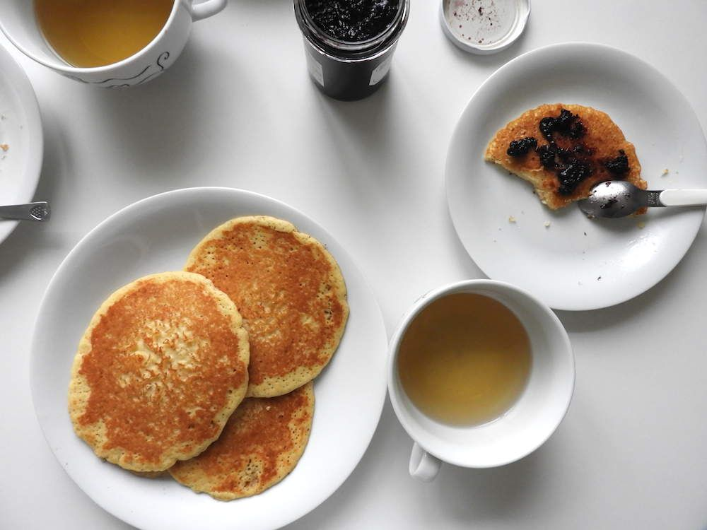 Mes pancakes sans gluten et sans lactose