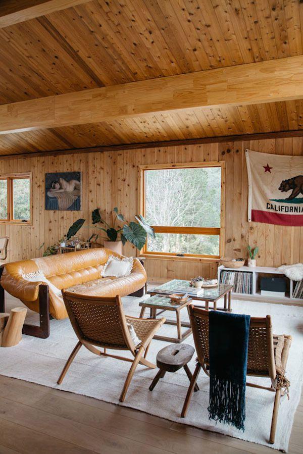 Une grande maison connectée avec la nature