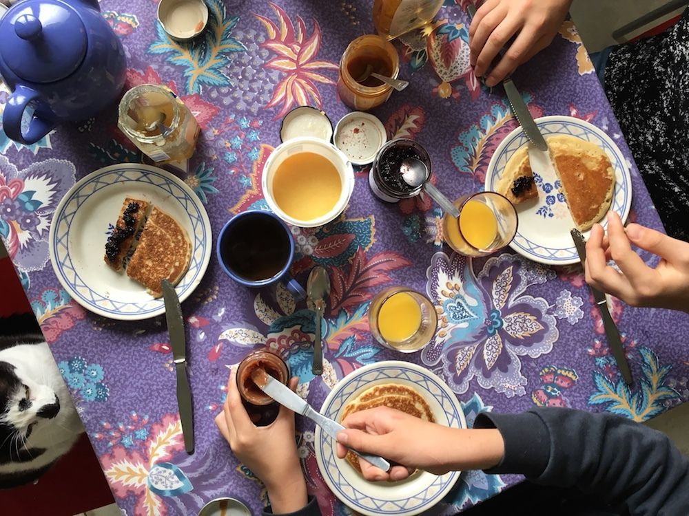 Mkhanfar, les pancakes du soleil