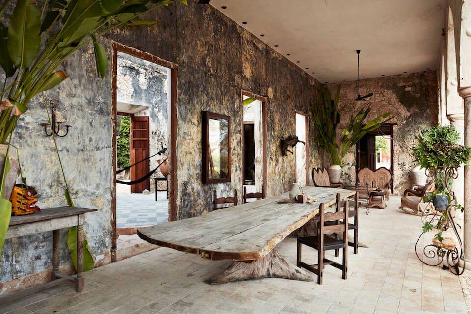 La renaissance d'une hacienda abandonnée
