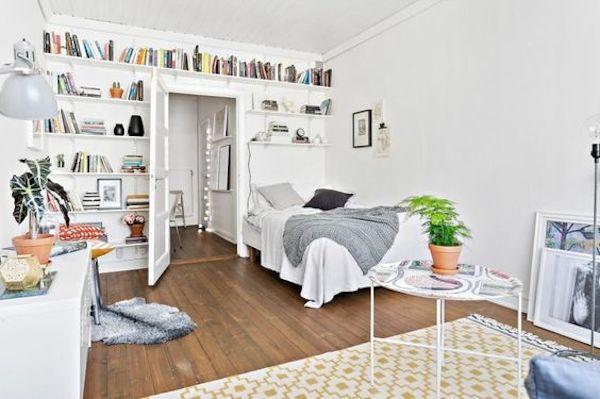 Un appartement étudiant comme un petit nid douillet
