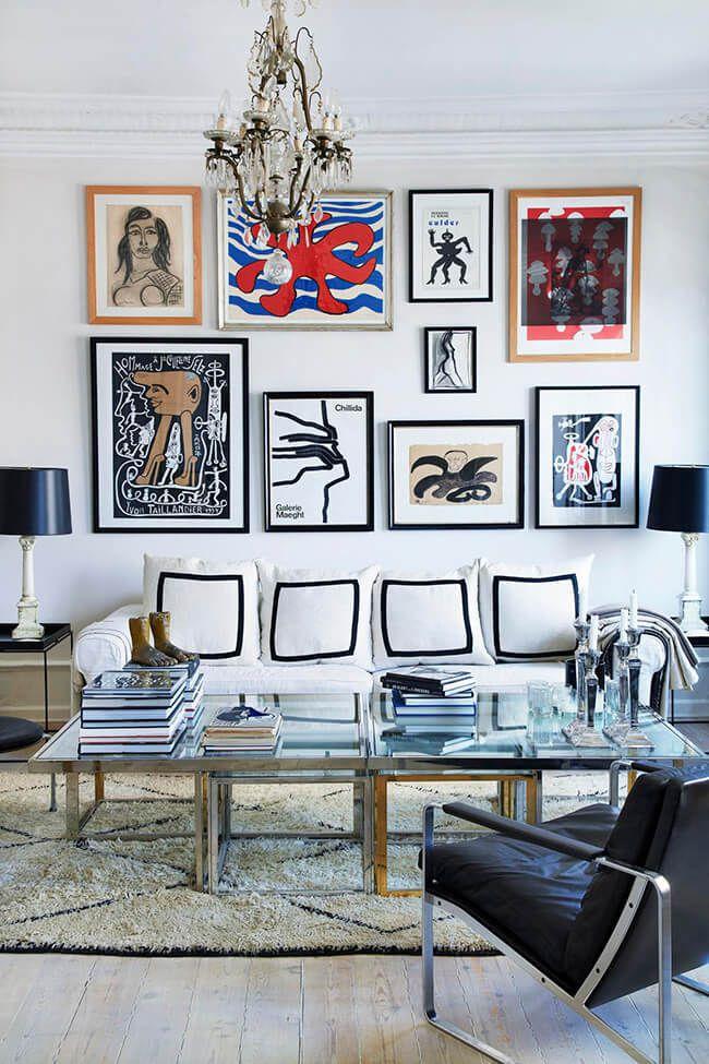 Un appartement, design, arty, classique, romantique et ethnique