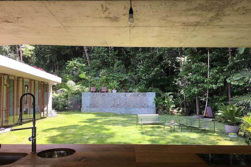 Une architecture de verre pour profiter de la forêt