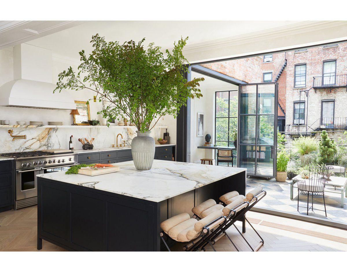 Un appartement new-yorkais avec terrasse